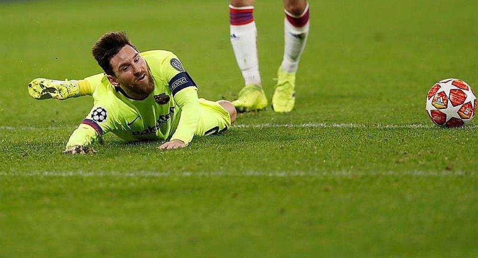 Liga de Campeones: Barcelona apenas iguala 0-0 ante modesto Lyon
