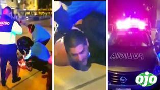 Abogado roba patrullero luego de que los policías dejaran las llaves dentro del auto
