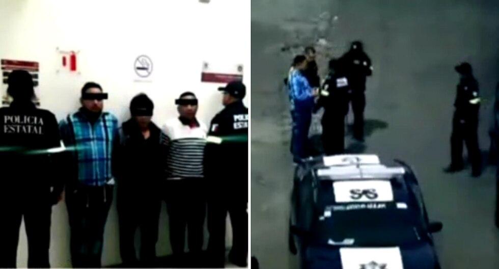 Capturan a dos peruanos por robar tarjetas en cajeros automáticos en México (VIDEO)