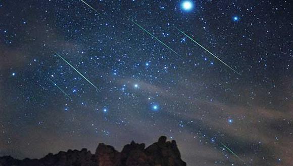 La lluvia de estrellas  se genera por el ingreso a nuestra atmósfera de fragmentos desprendidos del cometa Halley. (Foto: GEC)