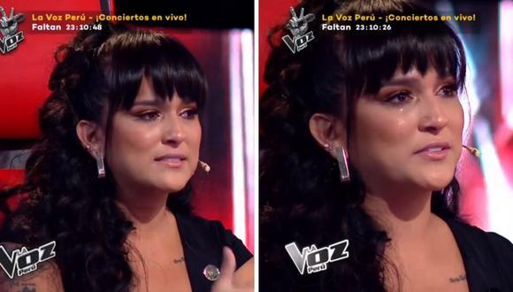"""Daniela Darcourt se confesó ante presentación en """"La Voz Perú"""". (Foto: Captura Latina)"""