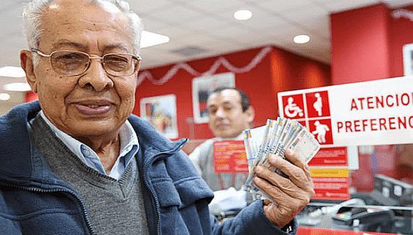 Banco de la Nación inicia pago de pensiones y gratificaciones por Navidad a jubilados de la Ley 19990