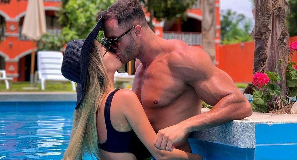 Fabio Agostini compartió fotos junto a la modelo ecuatoriana Ingrid Hansen Vik. (Foto: fabioagostinifit)