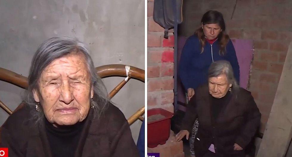Secuestran a abuela de 86 años para quitarle tarjeta donde retira su jubilación en Los Olivos | VÍDEO
