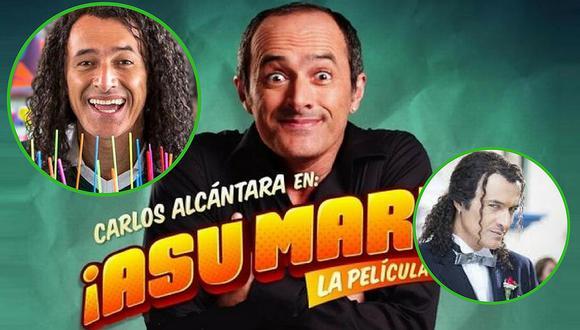 'Asu mare 3': Grabaciones siguen y así quedó caracterizado Carlos Alcántara