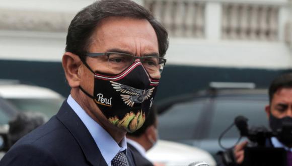 Martín Vizcarra anunció que solicitará al Congreso de la República su pensión vitalicia como expresidente. (Foto: GEC)