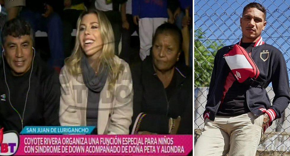 """Alondra García Miró reaparece en tv con Doña Peta: """"tenemos una linda relación aunque la gente no entienda"""""""