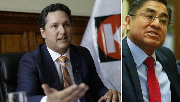 Daniel Salaverry está indignado porque Congreso no envía acusación a César Hinostroza