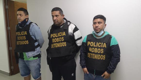 Los tres detenidos son investigados en la Dirincri. Los detectives esperan que las víctimas los reconozcan y se acerquen a denunciarlos. (Foto: PNP