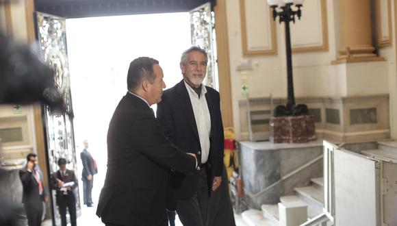 Francisco Sagasti lidera la lista propuesta por el Partido Morado para la Mesa Directiva. (Foto: GEC)