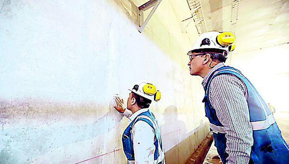 ¿Filtraciones en túnel ponen en riesgo proyecto Línea Amarilla?