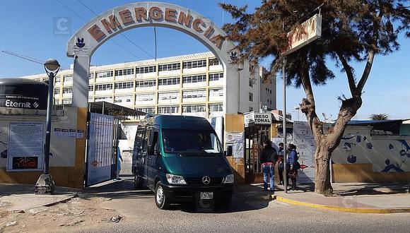 Tacna: la primera semana de diciembre del 2020, el nosocomio solo tenía paciente en cuidados intensivos. (Foto: GEC)