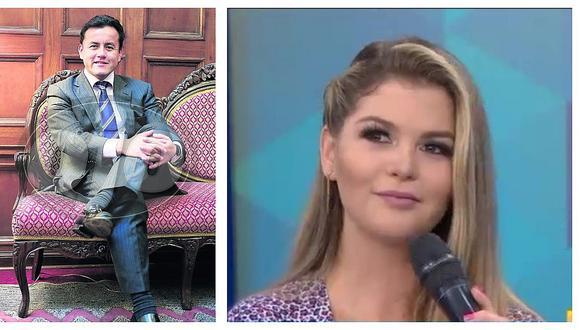 """Brunella Horna queda mal parada al decir por qué le puso """"te amo"""" a Richard Acuña"""