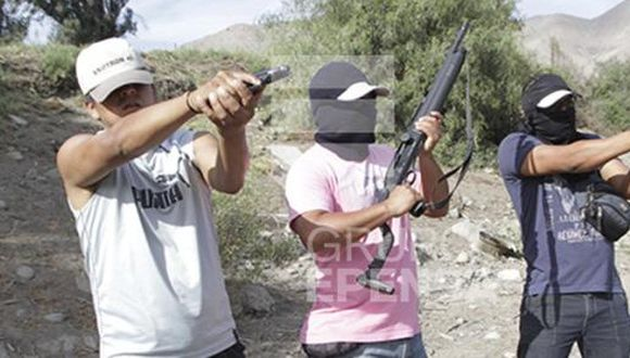 Trabajadores de azucarera Andahuasi disparan sus armas [VIDEO]