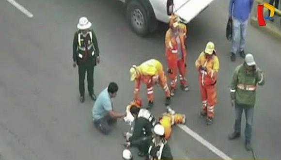 Surco: video capta precisos momentos de la muerte de trabajadora de limpieza