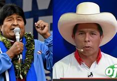 """Evo Morales celebra triunfo de Pedro Castillo: """"perdimos en Ecuador, pero ganamos en Perú"""""""