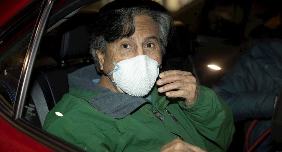 Alejandro Toledo abandonó la cárcel de Maguire, en el condado de San Mateo, después de pagar una fianza de 500,000 dólares. (Foto: EFE)