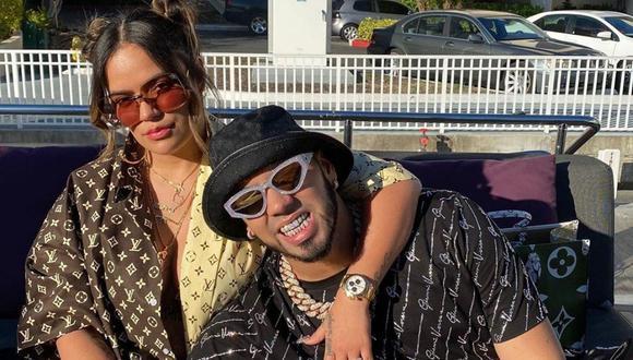 """Karol G habla de su supuesta ruptura con Anuel AA: """"Decidimos alejarnos de las redes sociales"""". (Instagram: @anuel / @karolg)."""