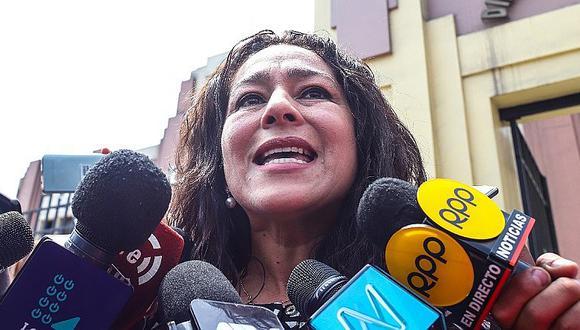 Chacón: ¿Un partido es una organización criminal porque quiere ganar elecciones y mayoría en el Congreso?