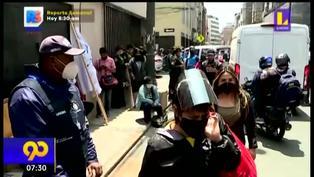 Mesa Redonda: ambulantes se niegan a ser reubicados en galerías y piden seguir en las calles
