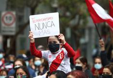 Miraflores: Ciudadanos rinden homenaje a víctimas del atentado terrorista en la calle Tarata | FOTOS