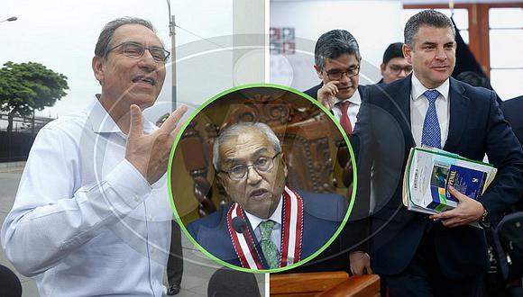 Martín Vizcarra sale de Palacio para pronunciarse sobre destitución de Vela y Domingo Pérez (VIDEO)