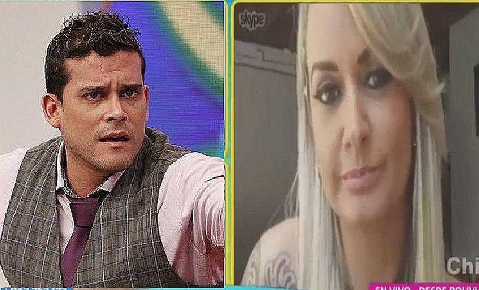 Boliviana Jeannine Gonzáles confiesa haberla pasado bien con Christian Domínguez