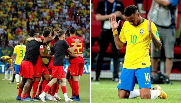 Bélgica gana 2 a 1 a Brasil y la Copa del Mundo se queda en Europa (FOTOS)
