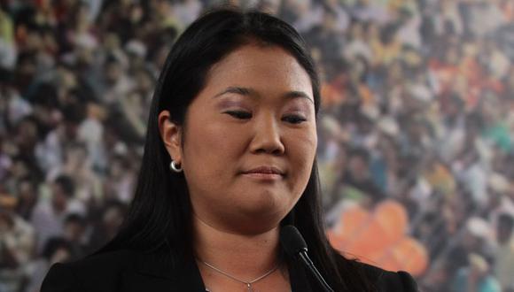Keiko lamenta muerte de Oyarce y se declara hincha de Alianza Lima