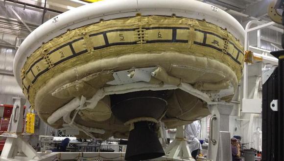 """NASA: Prueban por segunda vez """"platillo volador"""" para llevar humanos a Marte"""