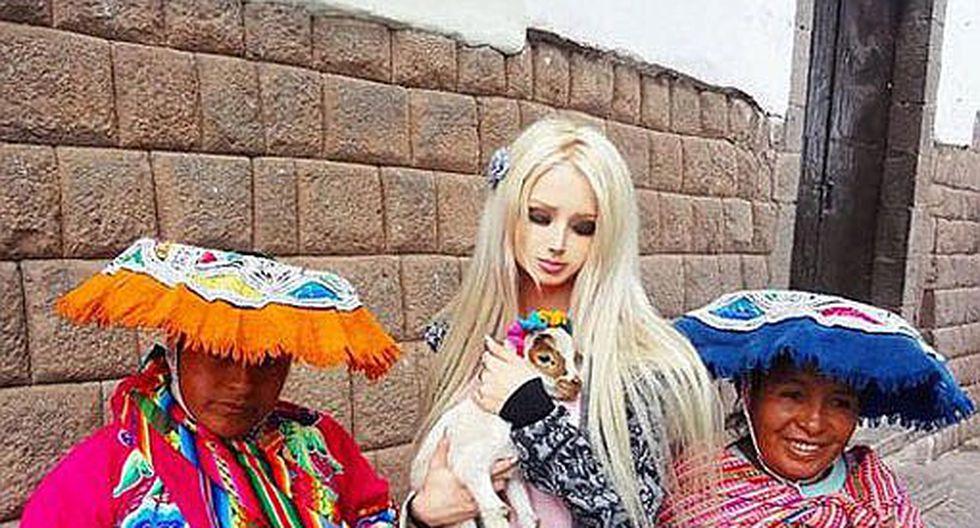 Barbie humana ya no quiere ser muñeca y vuelve a su estado natural