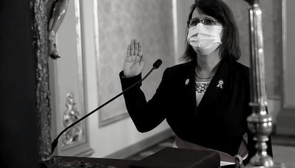 Pilar Mazzetti retornó al Minsa en agosto del 2020 y se sumó al gobierno de Martín Vizcarra. Luego del breve gobierno de Manuel Merino, tomó nuevamente las riendas del sector en la gestión de Francisco Sagasti. (Foto: GEC)
