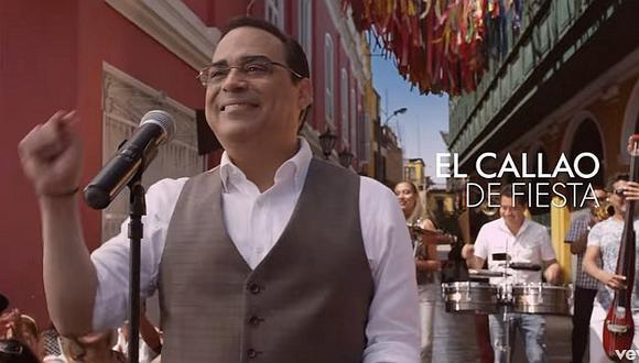 Gilberto Santa Rosa se gana a chalacos con tema dedicado al Callao [VIDEO]