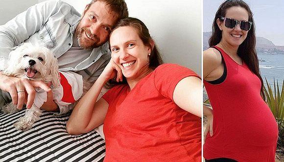 ¡Emilia Drago y Diego Lombardi ya son papitos! (FOTO)