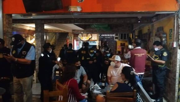 Piura: intervienen a personas aglomeradas sin respetar las medidas de bioseguridad por el COVID-19 (Foto: Municipalidad Talara)