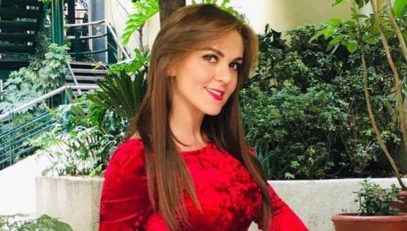"""Zoraida Gómez, actriz de """"Rebelde"""", compartió tierna imagen de su bebé. (Foto: @zoraidagomezmx)"""