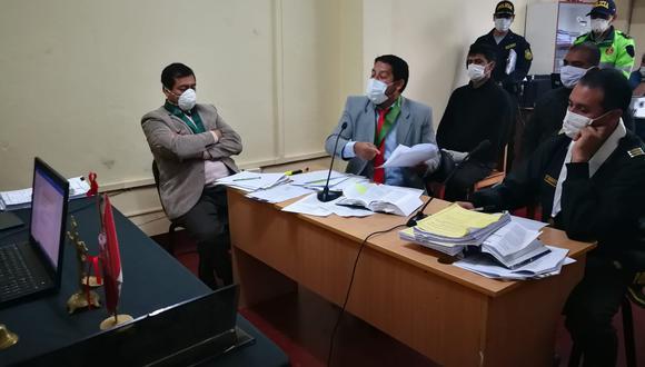 Ellos fueron intervenidos el último 12 de abril en luna vivienda en la ciudad de Cajamarca.