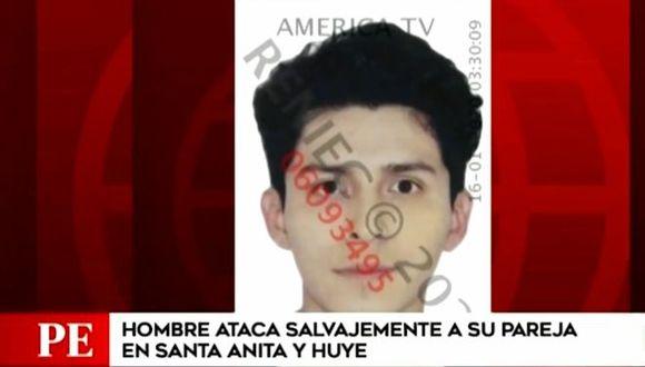 El hombre presenta otras denuncias por agresión. Por ahora está con paradero desconocido. (Foto: Captura 'América Noticias')