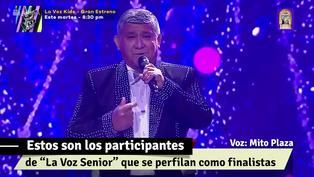 """""""La Voz Senior"""": mira aquí las últimas presentaciones de los favoritos a llegar a la gran final"""