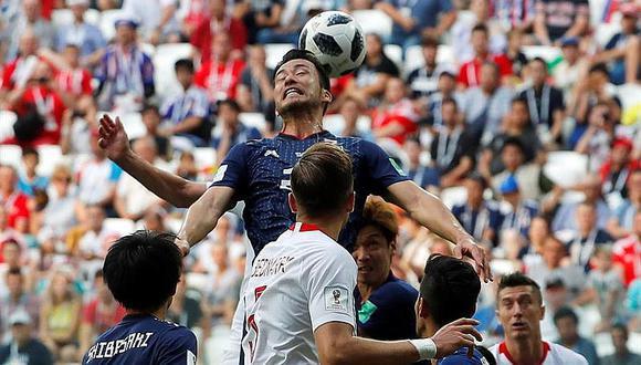 Japón pierde 1-0 ante Polonia pero igual pasa a octavos de final de Rusia 2018