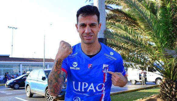 Diego Guastavino jugará por tercera vez en el Perú. La primera en otro equipo que no es Universitario de Deportes. (Foto: Carlos A. Mannucci)