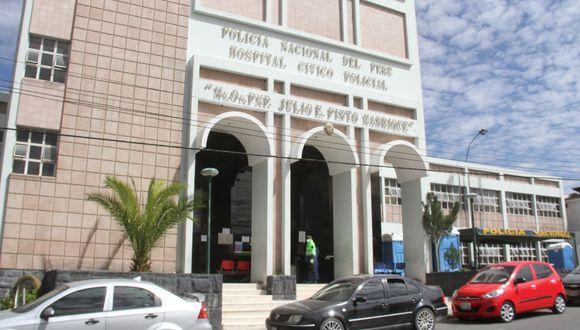 Arequipa: Habilitan 30 camas en Hospital Policial para la atención exclusiva de agentes con COVID-19 o sus familiares.