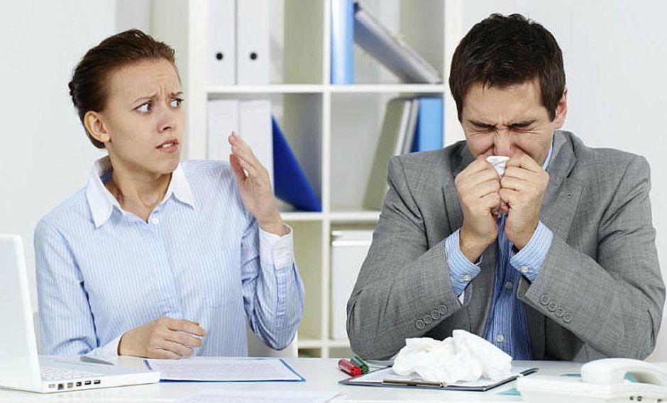 ¿Estás con gripe? 4 consejos para ir a trabajar sin sufrir en la oficina