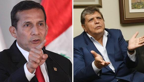 """Ollanta Humala arremete contra Alan García: """"Ya nada sorprende de AG"""""""