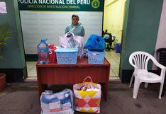 Miraflores: Taxista roba víveres a pasajera que tomó servicio por aplicativo