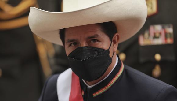 """""""[Tenemos que] condenar públicamente los actos terroristas, estos actos ideológicos que siembran terror y han venido haciéndolo durante mucho tiempo, tenemos que condenarlos y repudiarlos"""", señaló Castillo  (Foto: GEC)"""