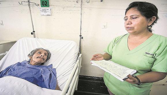 Hospital Hipólito Unanue: Seis pacientes fueron abandonados por sus familias