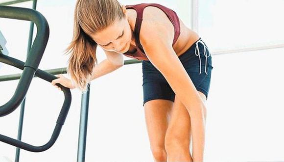 ¿Qué ocurre con los músculos cuando hay exceso de ejercicios?