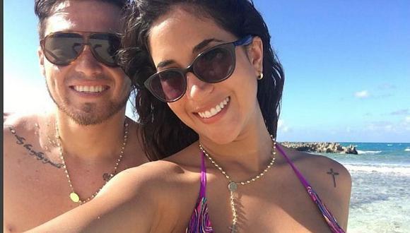 Melissa Paredes enternece a fans con fotos de su luna de miel