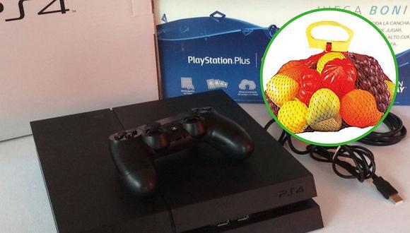 Joven compró una consola de videojuego por el precio de una bolsa de frutas